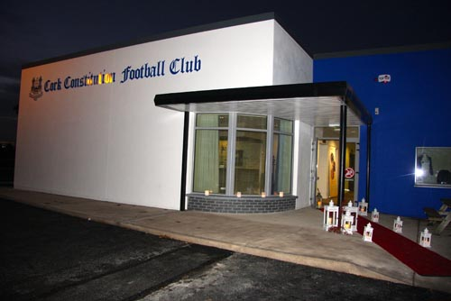 Entrance to Cork Con FC